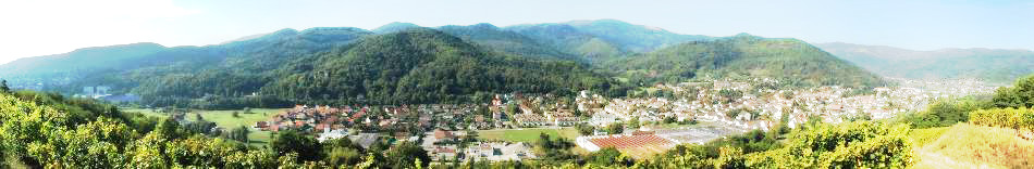 Panorama de la région